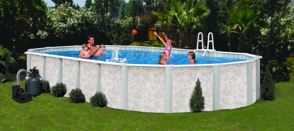 Details About 16 X 24 52 Above Ground Pool Complete Package 20 Yr Warranty Mystique