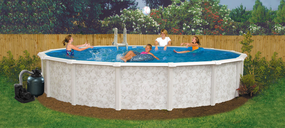 Details About 30 X 52 Above Ground Pool Complete Package 20 Yr Warranty Mystique